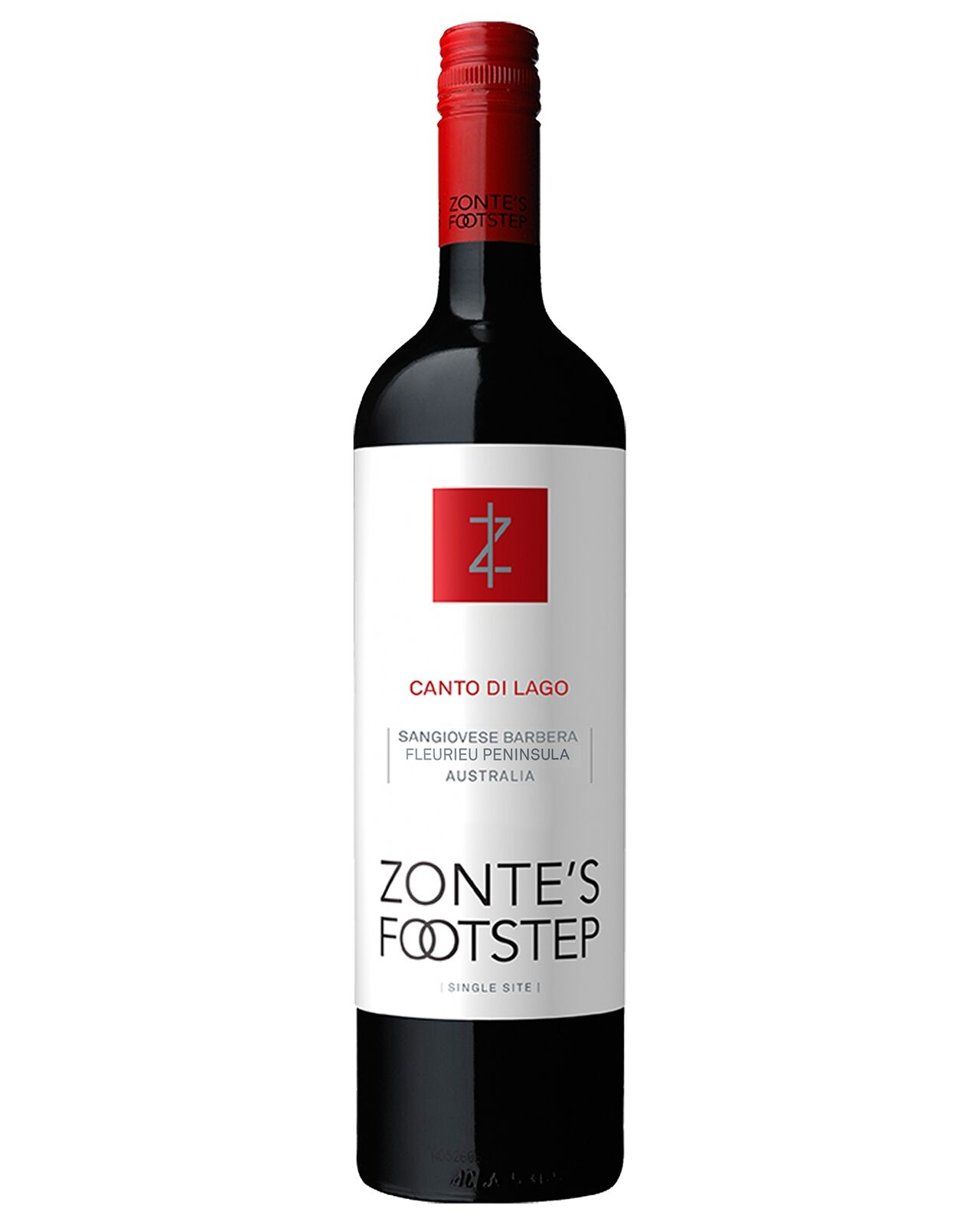 Zonte's Footstep Canto di Lago Sangiovese Barbera 2014 case of 12 Dry Red Wine