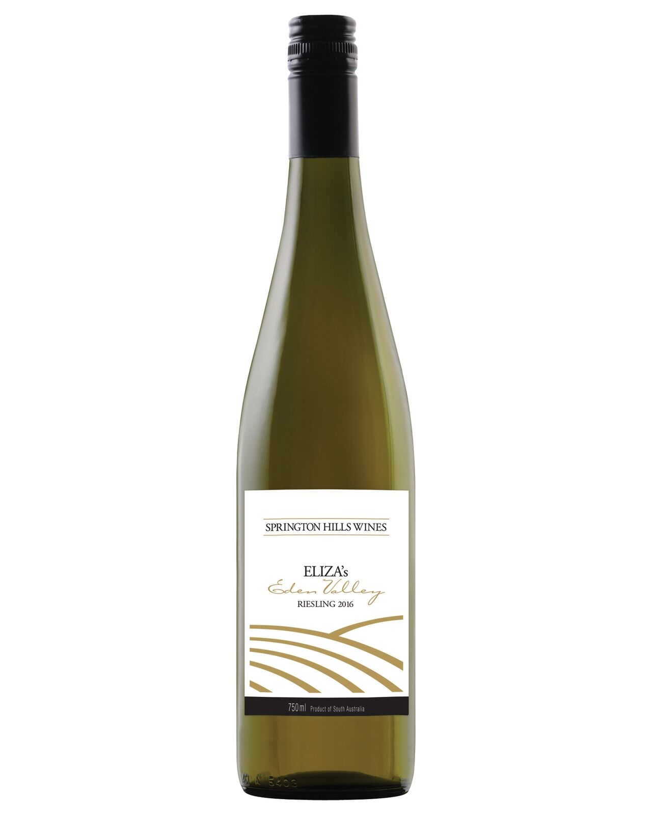 Springton Hills Wines Eliza's Riesling 2016 case of 12 Dry White Wine 750mL