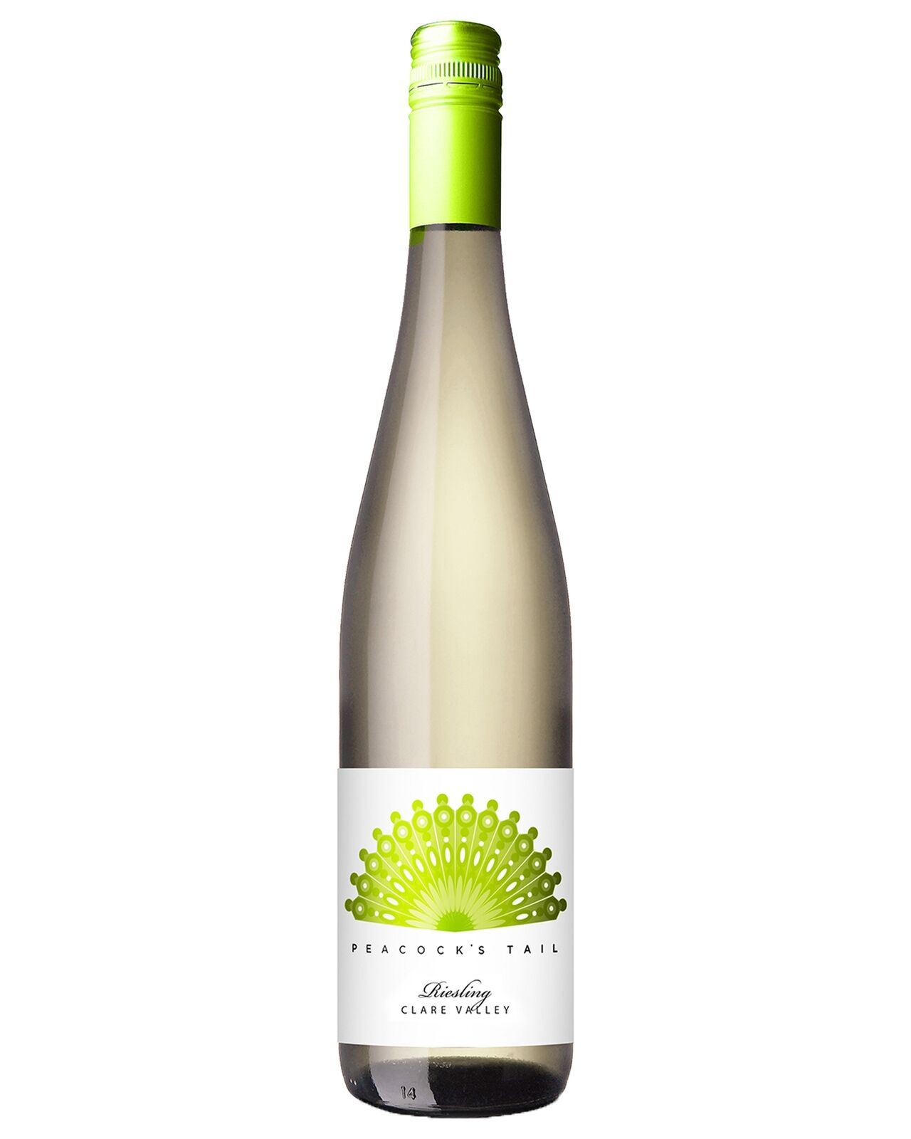 Peacock's Tail Clare Valley Riesling 2015 case of 12 Dry White Wine 750mL