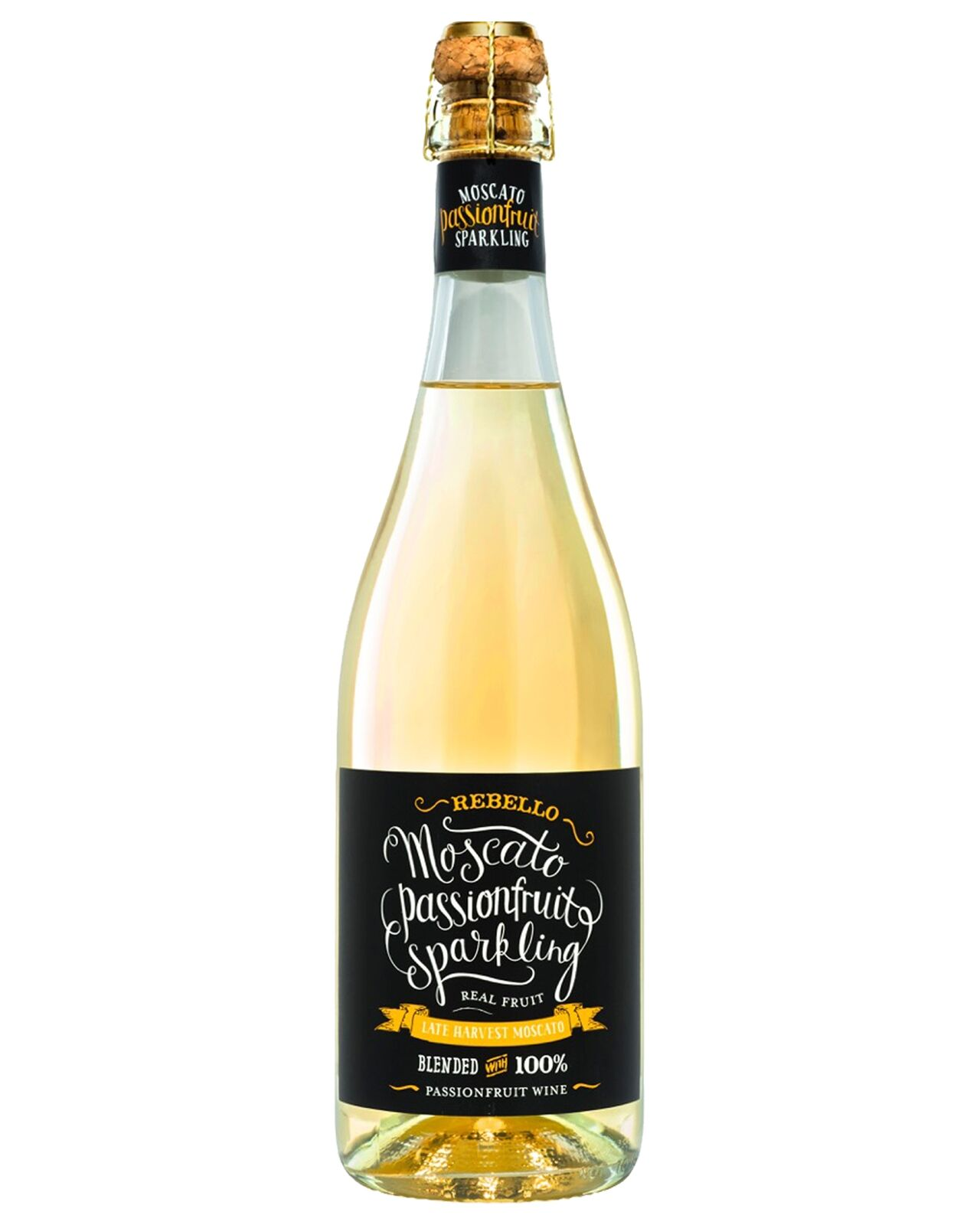 Rebello Wines Moscato Passionfruit Sparkling 2016 case of 6 Sparkling Sweet Wine