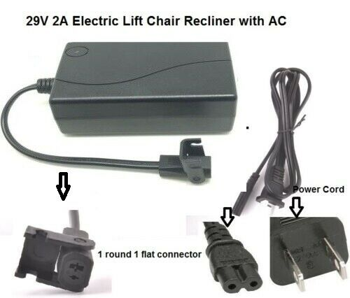 Lift Chair Power Recliner AC/DC Switching Power Supply Transformer + Power Cord 1 of 5FREE Shipping ...  sc 1 st  PicClick & LIFT CHAIR POWER Recliner AC/DC Switching Power Supply Transformer + ...