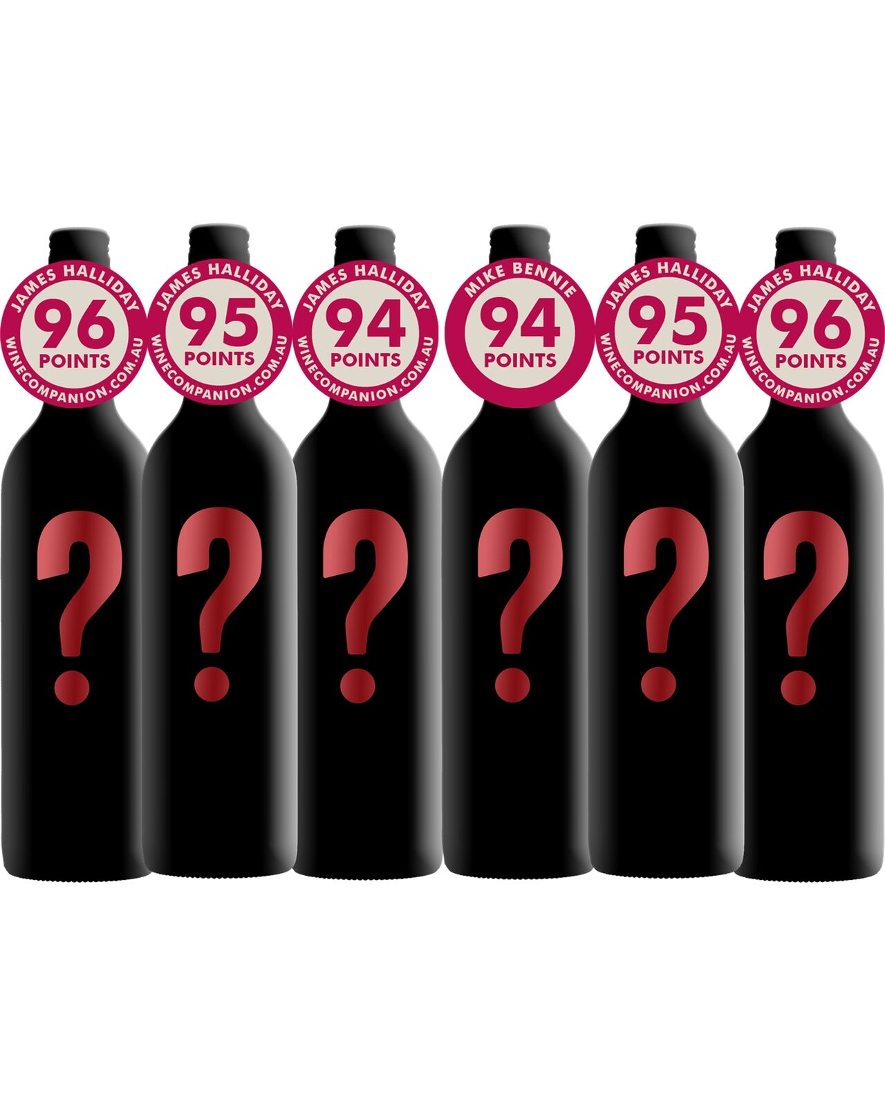 Mystery Premium Mixed Red Pack bottle Dry Red Wine 750mL