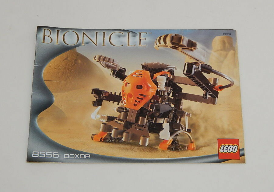 Lego Bionicle Boxor 8556 Instructions Only R10828 1596 Picclick