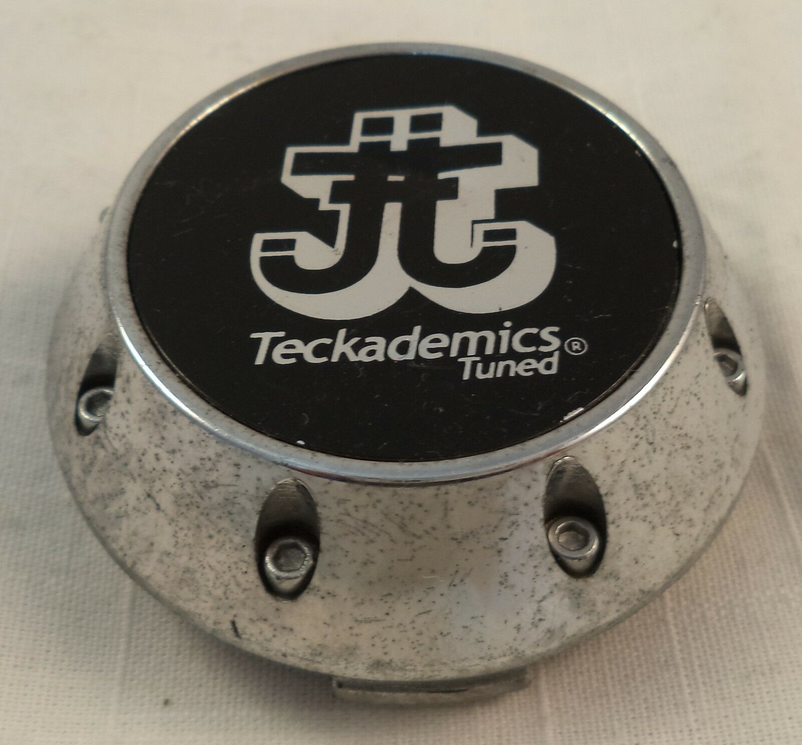 Teckademics Tuned Wheels Chrome Custom Wheel Center Cap Caps 1