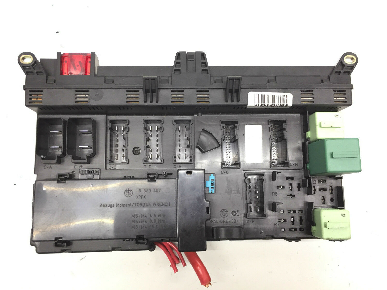 Bmw X5 E53 M62 44i Engine Fuse Box Relay 6907395 2137 Picclick Uk M6 1 Of 1only Available