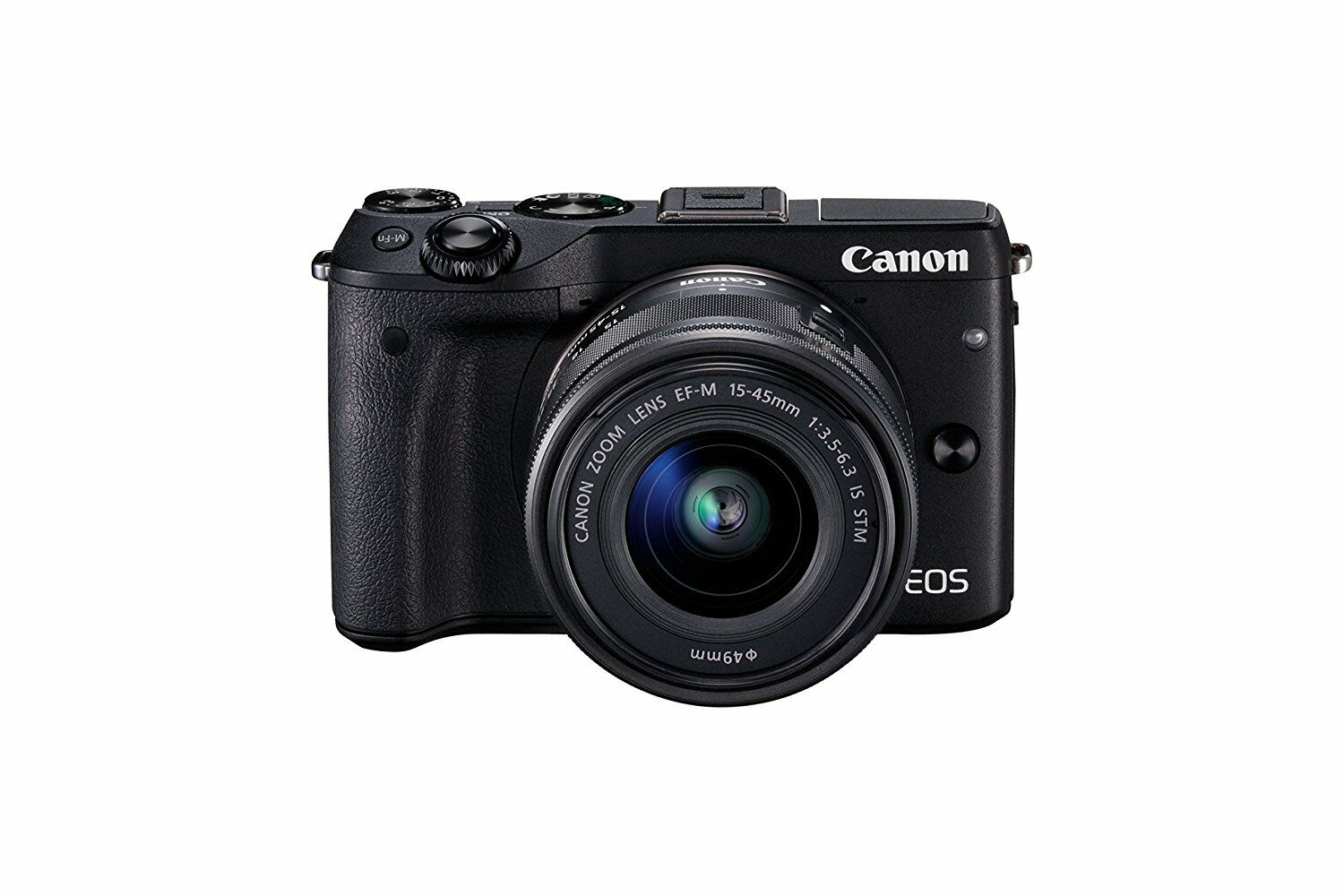 Canon Eos M3 Compact System Camera Ef M 15 45 Mm F 35 63 Is Stm M10 Kit 22mm 1 Of 1free Shipping