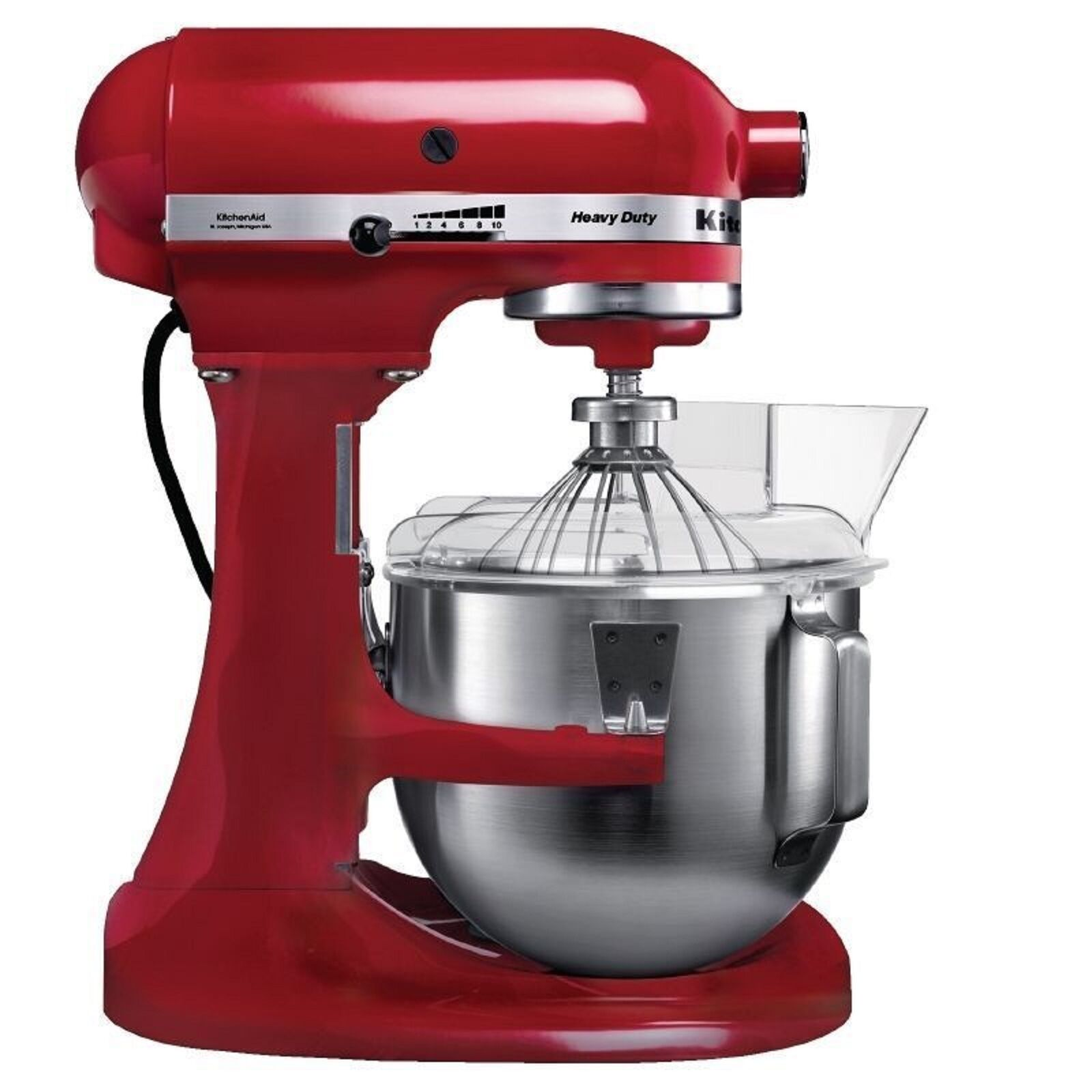 kitchenaid heavy duty 5kpm5eer k chenmaschine rot neu ovp eur 454 00 picclick de. Black Bedroom Furniture Sets. Home Design Ideas