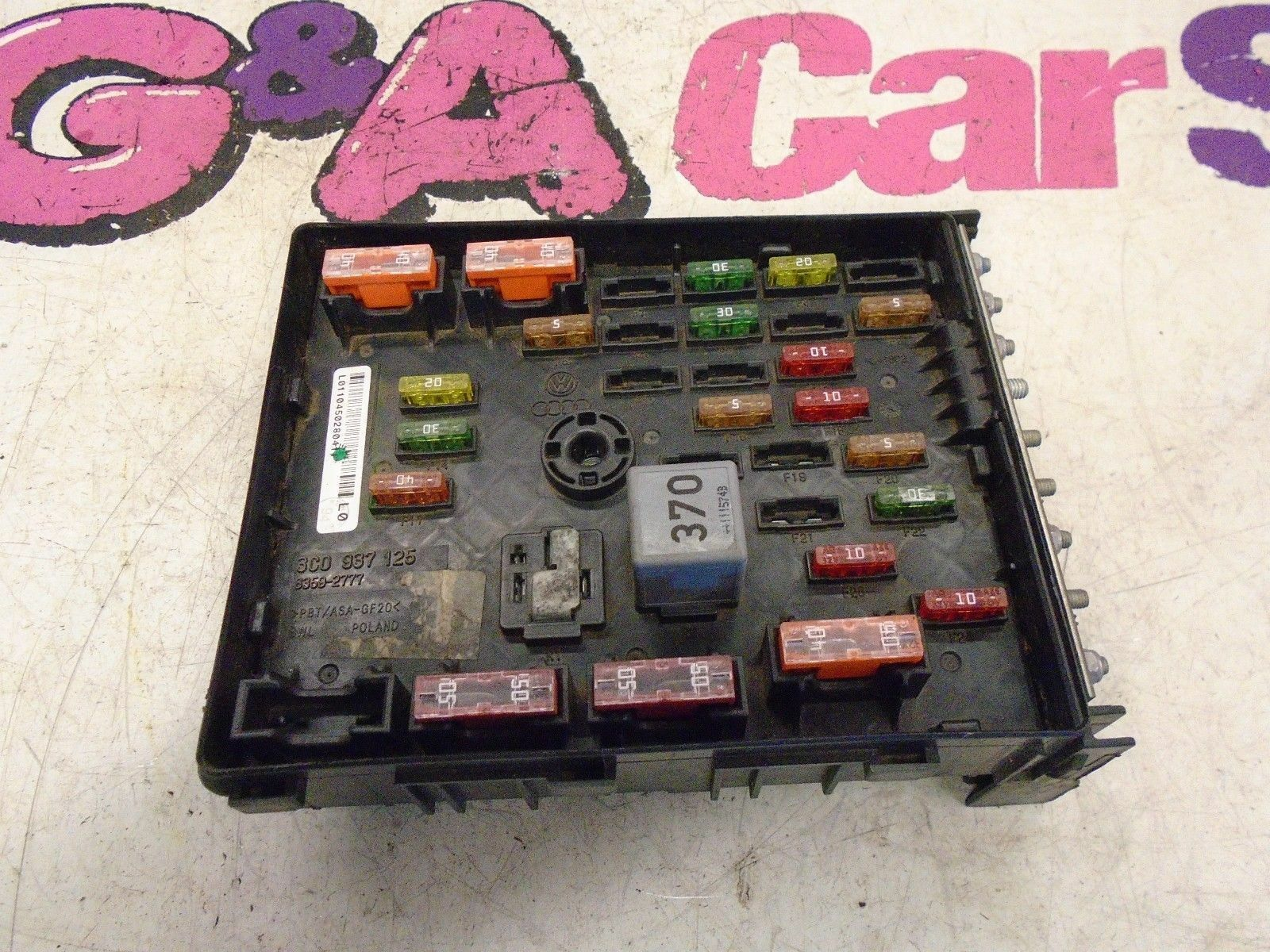 Vw Passat B7 Fuse Box Relay 2010 2014 1499 Picclick Uk Audi A4 1 Of 4only Available