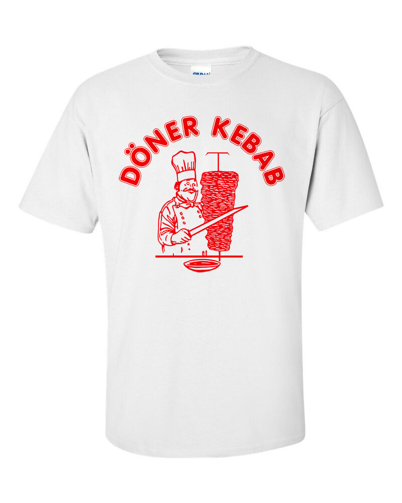 d ner kebab take away junk food doner t shirt eur 11 35. Black Bedroom Furniture Sets. Home Design Ideas