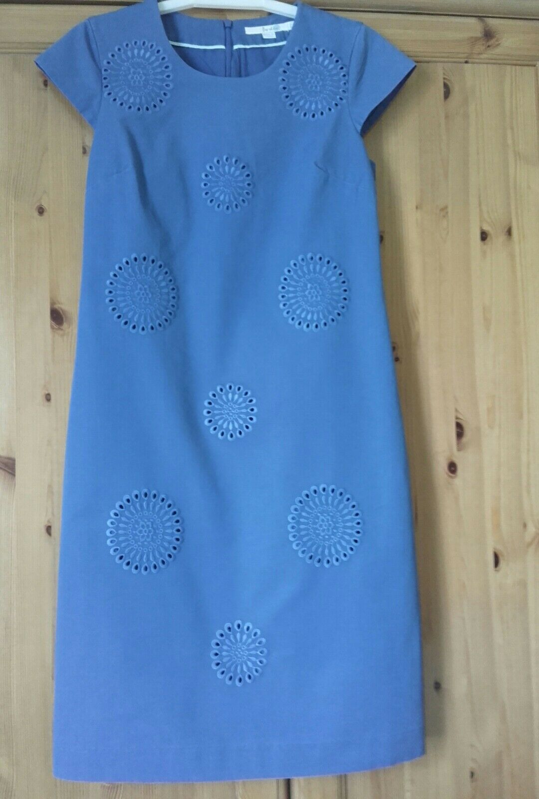 Boden blue embroidered dress new size 8l for Boden clothing deutschland