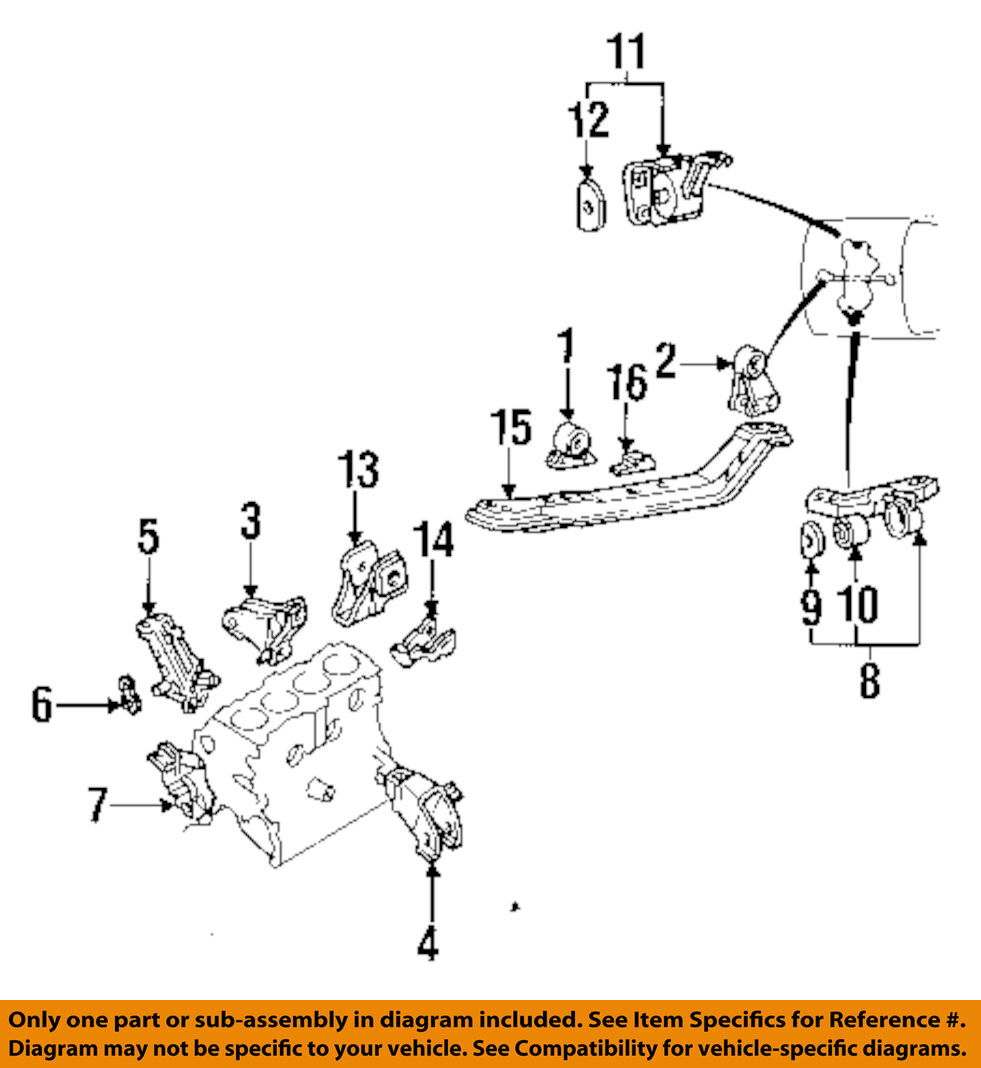Hyundai Transmission Diagrams Trusted Schematics Diagram Saab Oem Engine Motor Frame Cradle Crossmember 2010 Elantra 1 Of 1only