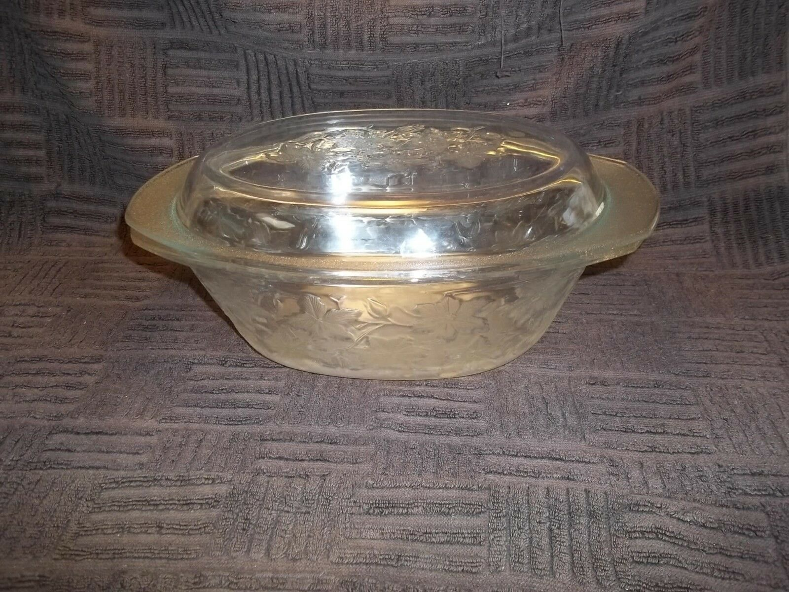 Princess house crystal fantasia 3 quart casserole 5391 for Princess housse