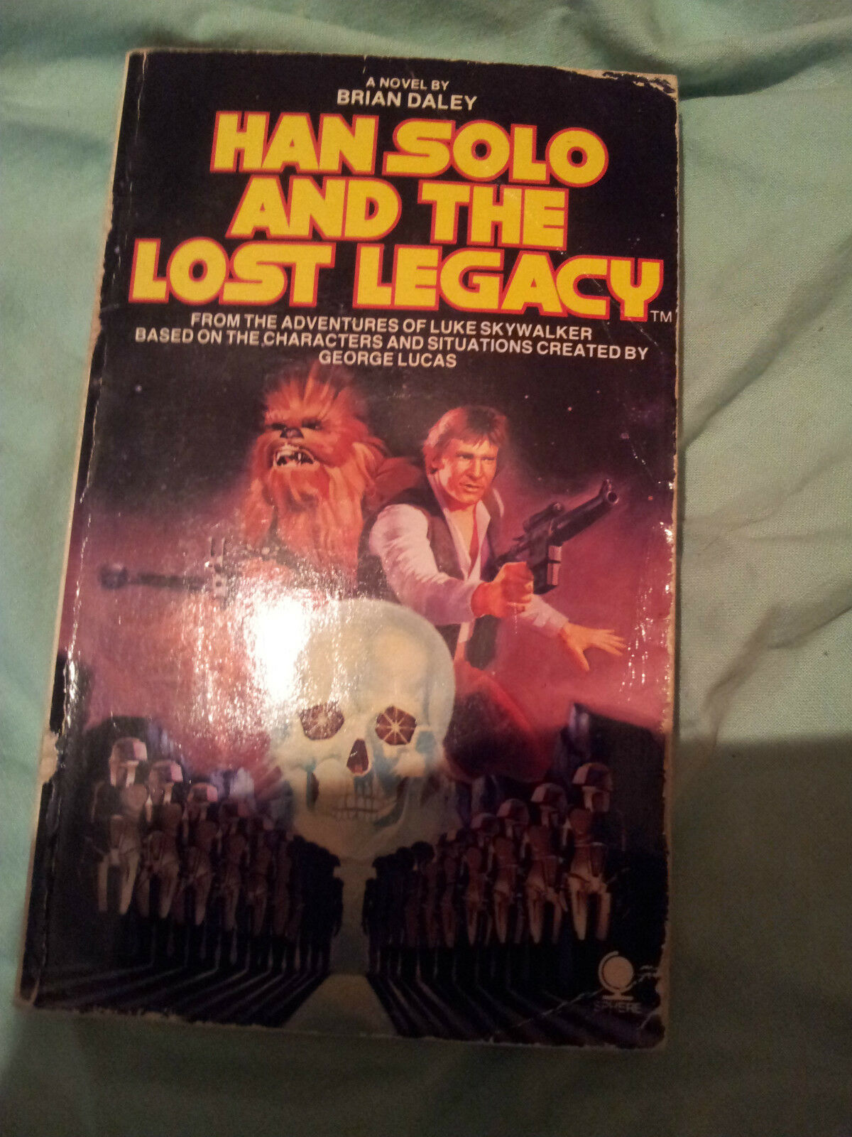 Han Solo and the Lost Legacy (Brian Daley, 1980) Book Club Edition, Hardcover