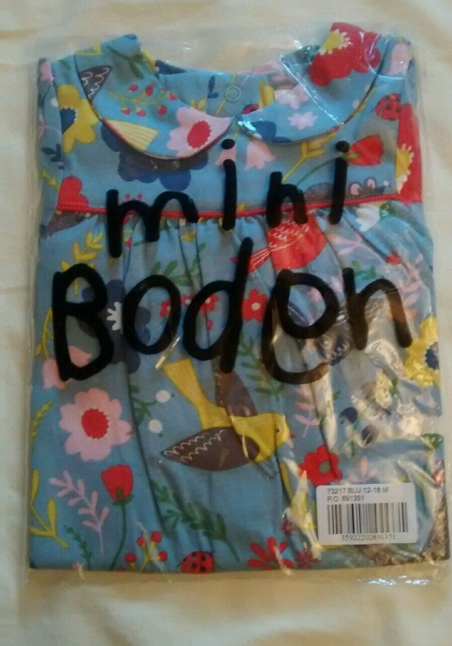 Mini boden baby girls collar jersey dress 12 18m new 9 for Mini boden germany