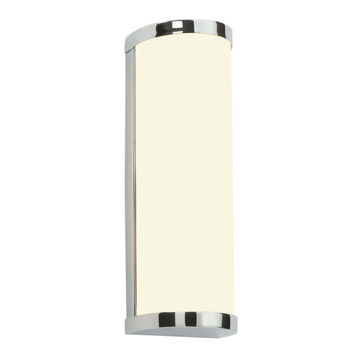 Saxby ice modern curved chrome frosted glass bathroom wall light 1 of 1free shipping aloadofball Images