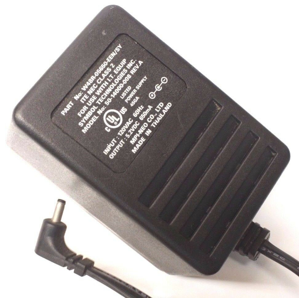 50 14000 008 Ac Dc Power Supply Adapter Charger Output 52v 650ma