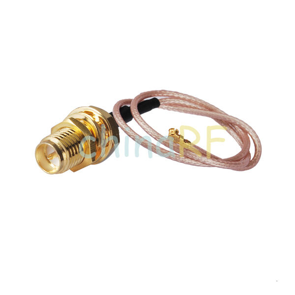 Ufl Ipx Rp Sma Female Male Bulkhead Pigtail Cable Mini Pci Kabel To Coaxial Rpsma 1 Of 3 See More