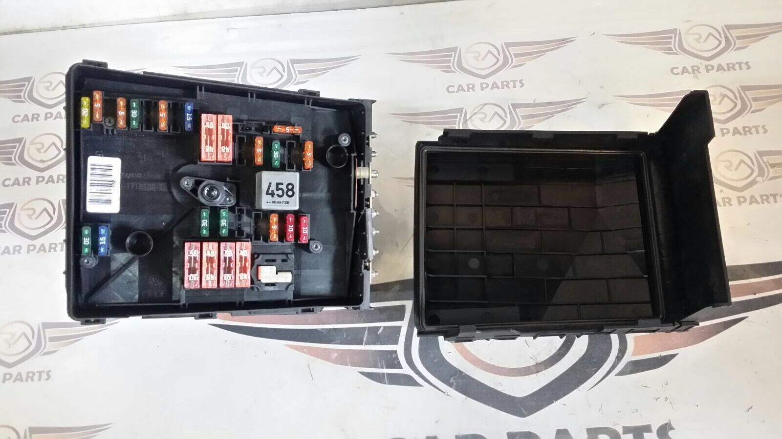 Genuine Audi A3 Mk2 8p 19 Tdi 03 10 Under Bonnet Fuse Box 1718130 1 Of 7only Available
