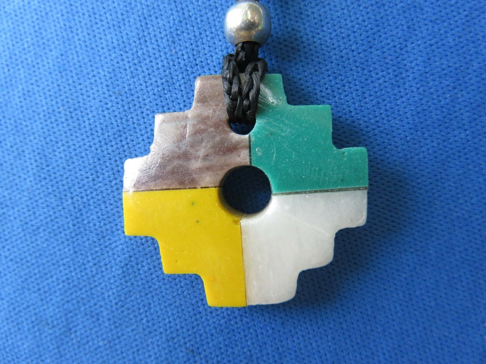 Peru pendant necklace south american inca cross ethnic jewelry peru pendant necklace south american inca cross ethnic jewelry chakana c 1 of 3only 1 available aloadofball Images