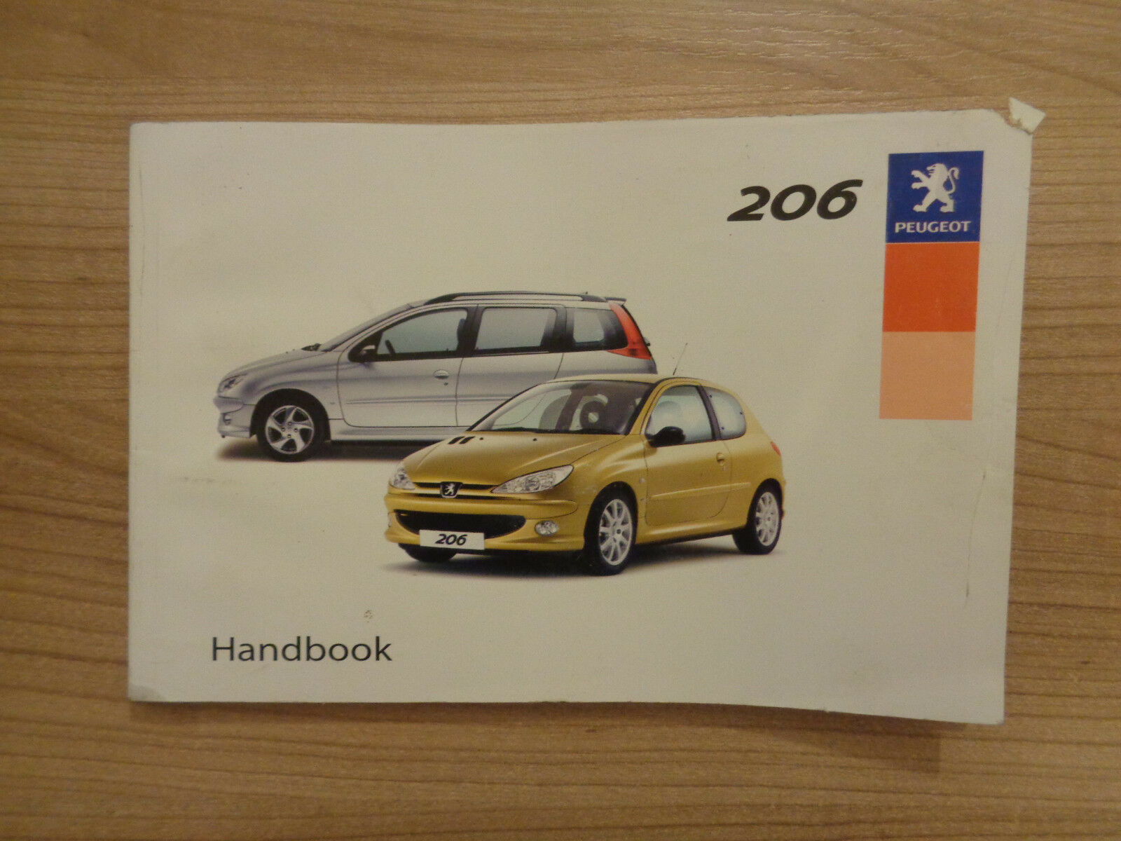 Peugeot 206 Owners Handbook/Manual 02-04 1 of 1Only 1 available ...