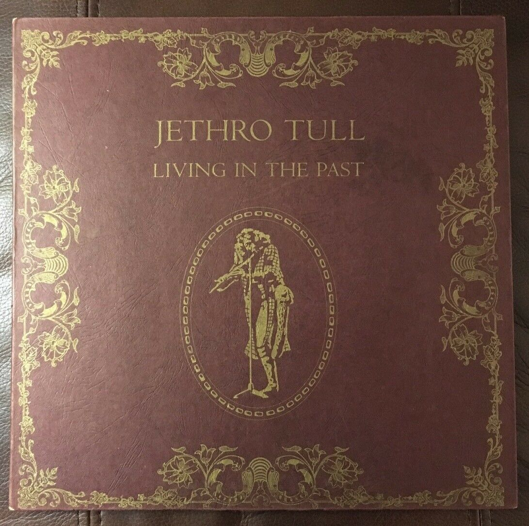 JETHRO TULL LIVING In The Past VG+ Vinyl 2TS2106 2lp Set Booklet ...