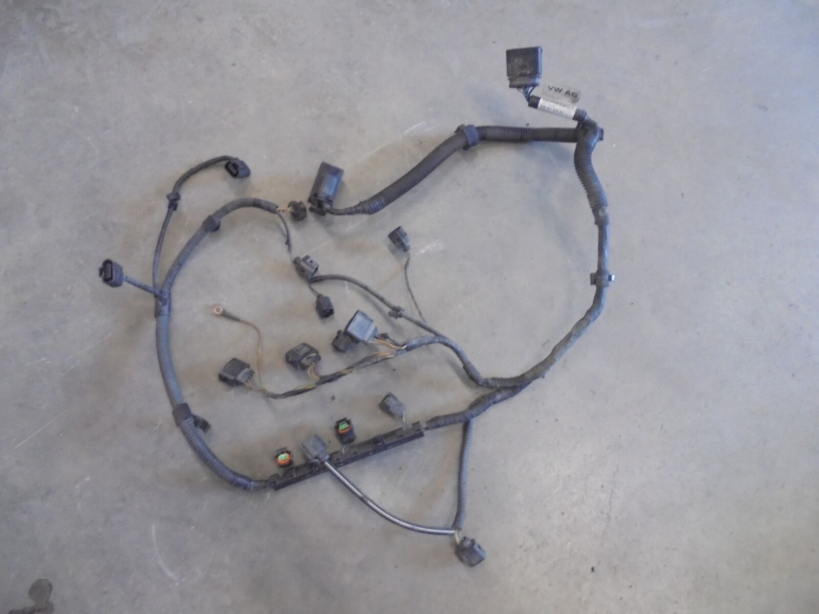 Engine Wiring Loom Vw Polo 6r 03e971612aj 12 44kw Cgp Cgpb 145473 Volkswagen Looms 1 Of 2only Available