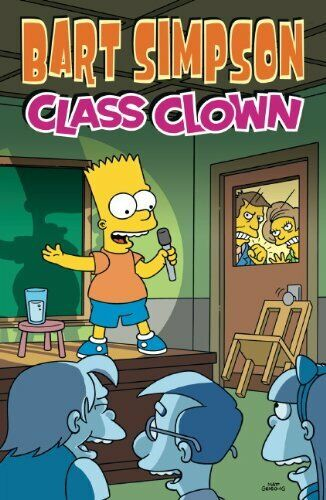 Bart simpson class clown simpsons by matt groening paperback book 1 of 1only 5 available fandeluxe Gallery