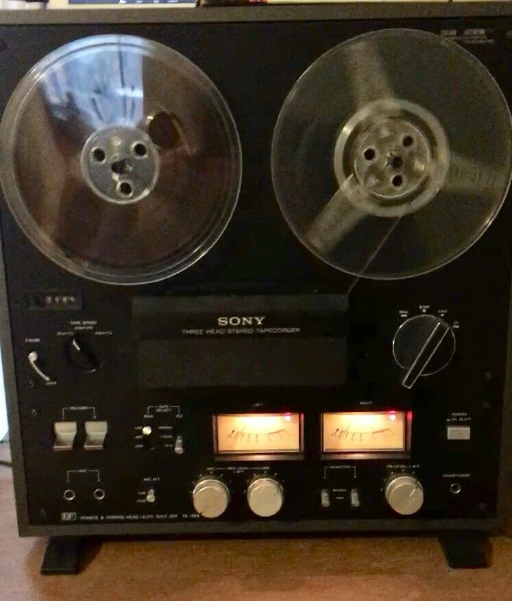 VINTAGE reel to reel tape deck player recorder Teac a