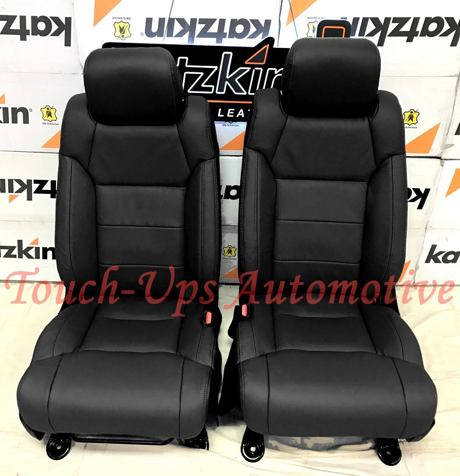 2014 2018 toyota tundra crewmax katzkin black leather seats sr5 trd 2015 2016. Black Bedroom Furniture Sets. Home Design Ideas