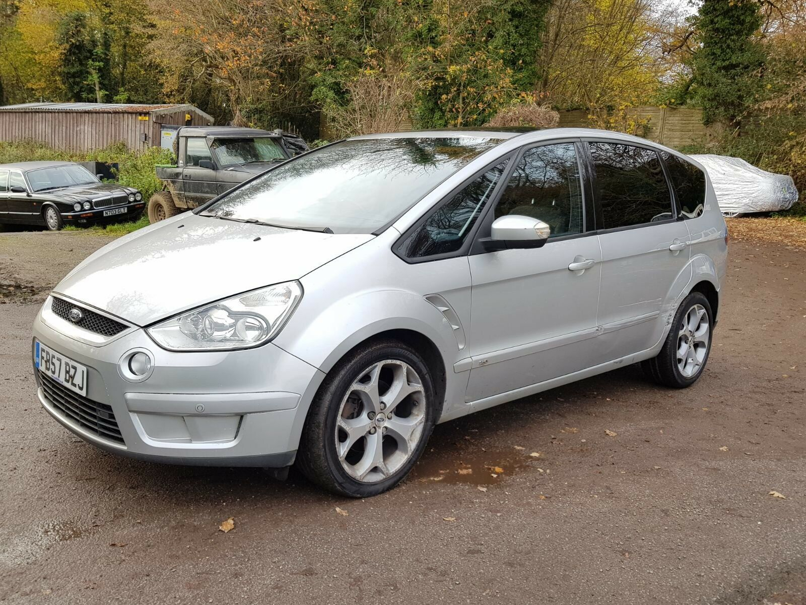 2007 ford s max titanium tdci auto 7 seater pan roof leather interior 2 picclick uk. Black Bedroom Furniture Sets. Home Design Ideas