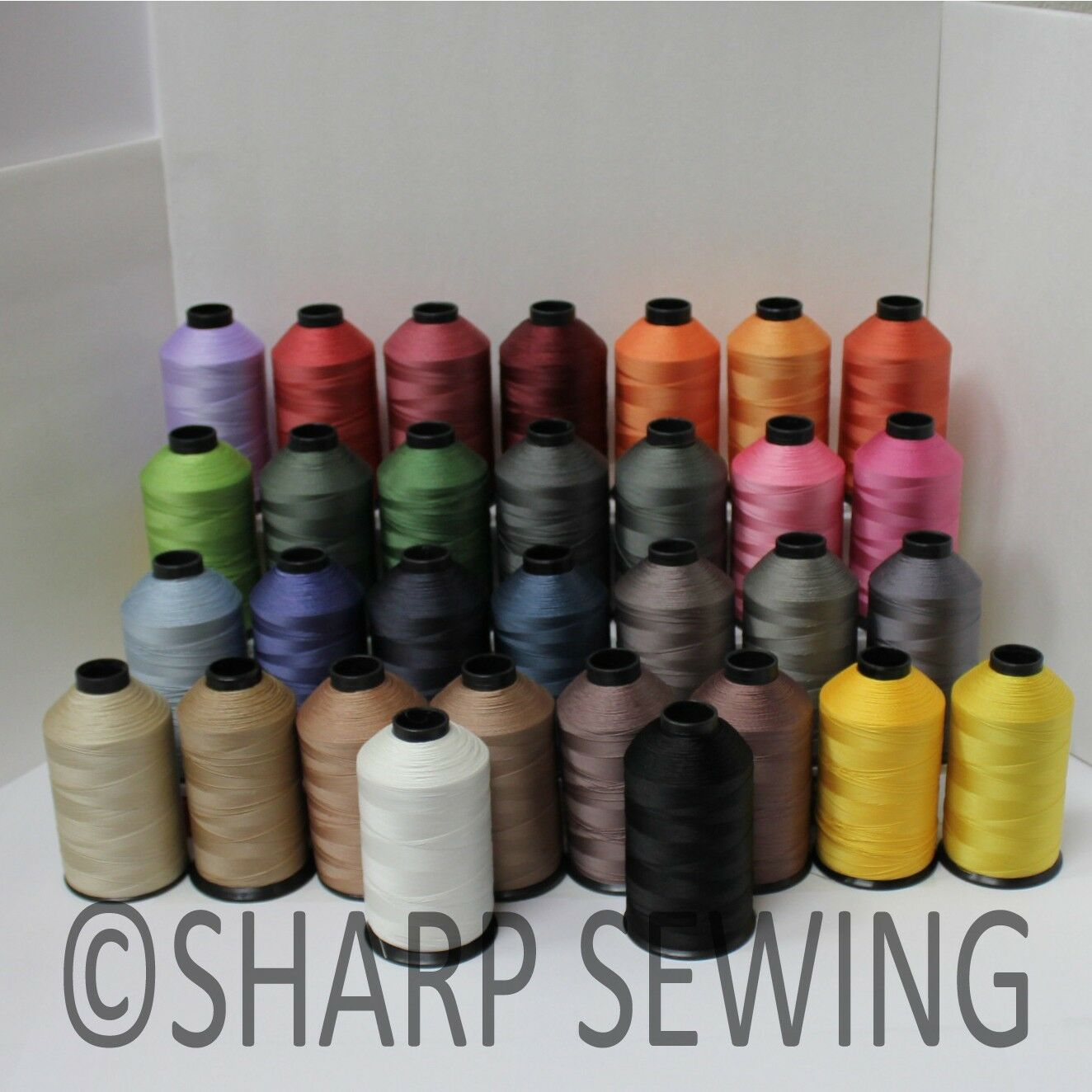 Bonded Nylon Sewing Thread 69 T70 For Upholstery Leather Outdoor