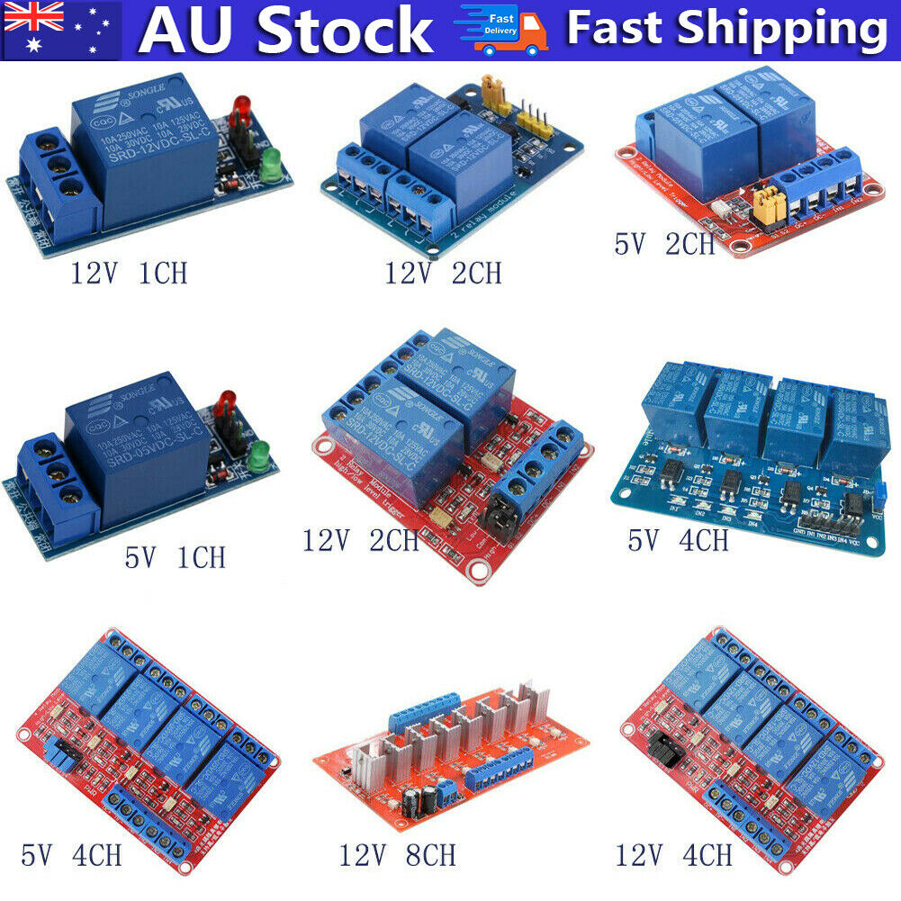 12v 1 2 4 8 Channel Relay Board Module W Optocoupler Led For Arduino Of 11free Shipping