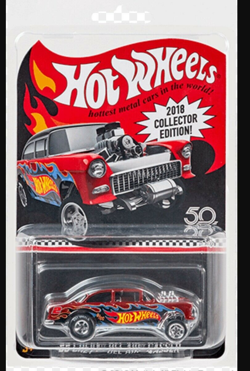 2018 hot wheels 2018 kmart mail in 55 chevy bel air gasser new mint preorder picclick. Black Bedroom Furniture Sets. Home Design Ideas