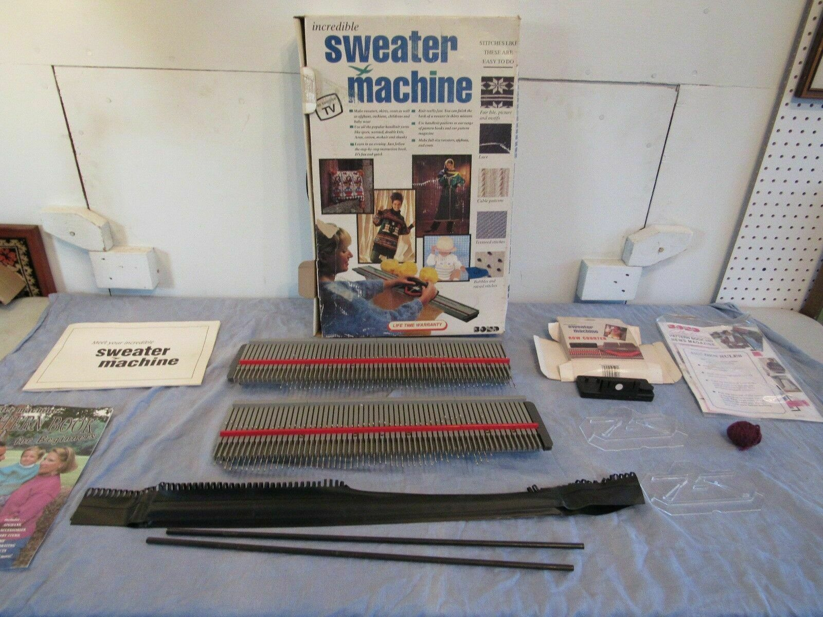 The Incredible Sweater Machine by Bond Knitting Machine Replacement Pieces  Parts 1 of 10Only 1 available See More