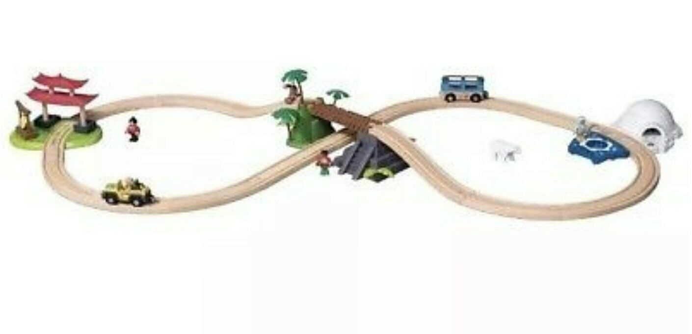 Playtive Junior Around The World Adventure Train Set 57 Pieces 3 8 Years 1 Of 2only Available