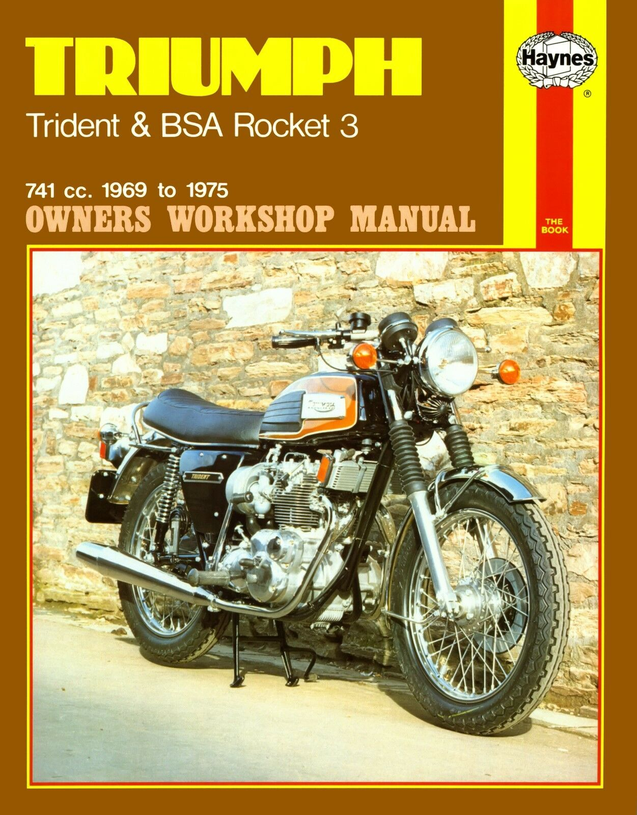 0136 Haynes Triumph Trident & BSA Rocket 3 (1969 - 1975) Workshop Manual 1  of 1FREE Shipping See More