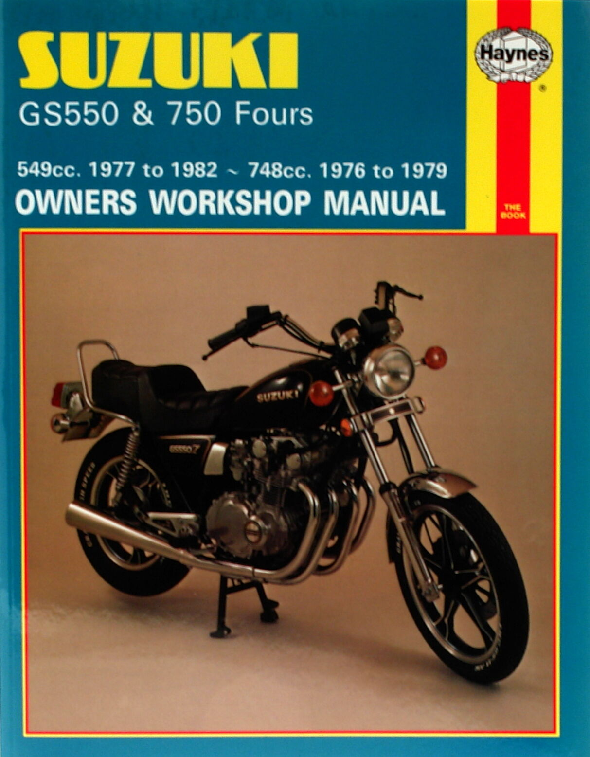 0363 Haynes Suzuki GS550 (1977 - 1982) & GS750 Fours (1976 - 1979 1 of  1FREE Shipping See More