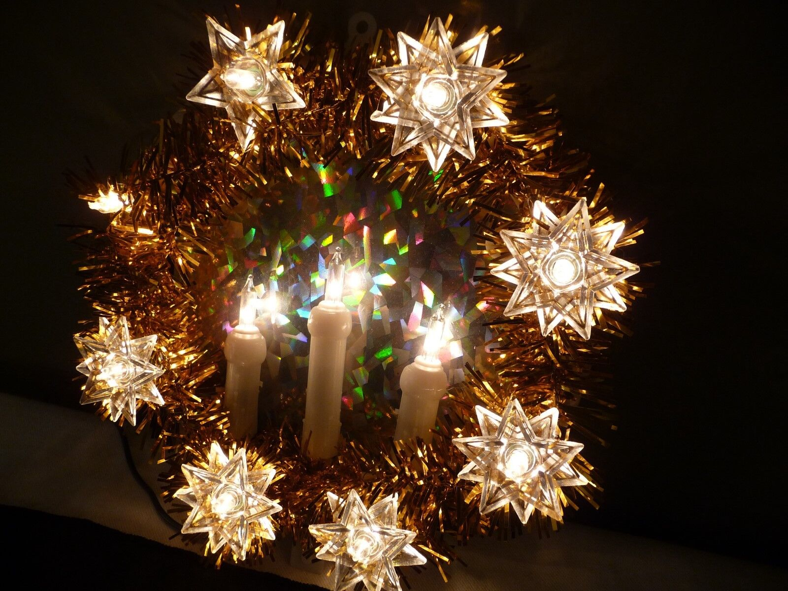 1 of 5 see more - Lighted Christmas Tree Toppers