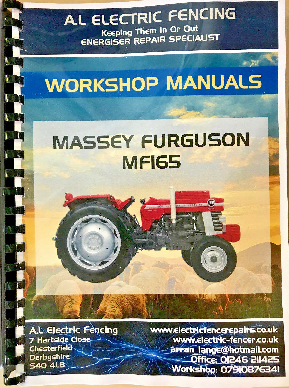 MF Massey Ferguson Tractor Workshop Manuals 4400 Series,Free Postage 1 of  1Only 1 available ...