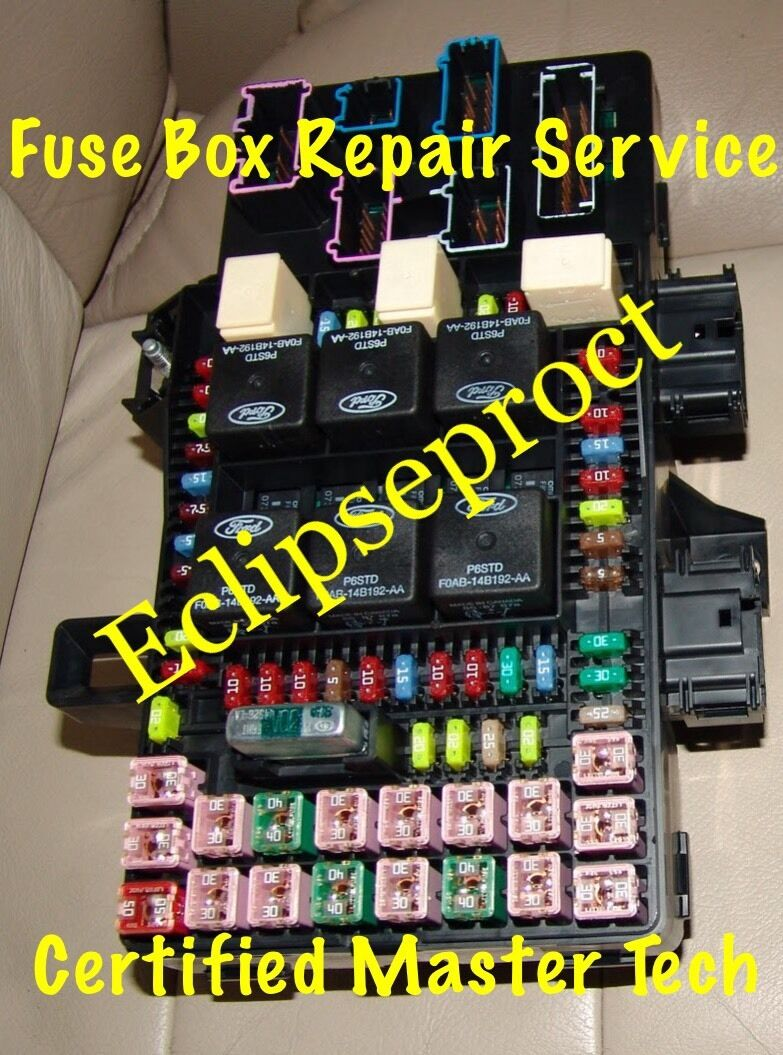 2003 2006 Ford Expedition Navigator Fuse Box Repair Service 6000 1 Of 1free Shipping