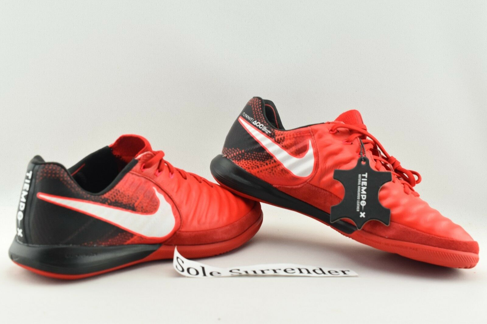 64cb9df6c32 Nike Tiempox Proximo II IC - SIZE 7 - NEW - 897767-616 Indoor Soccer Boots  Black 1 of 7 ...