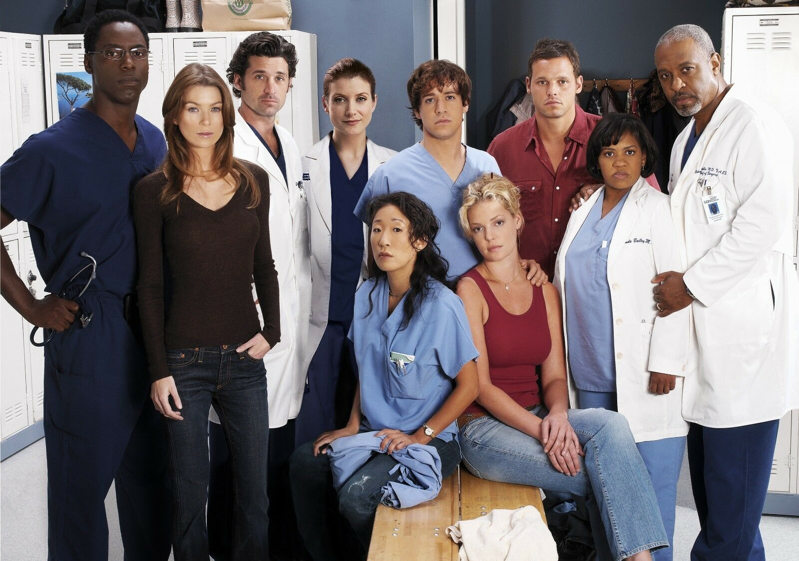GREY\'S ANATOMY - TV SHOW CAST PHOTO #684 - $9.99 | PicClick