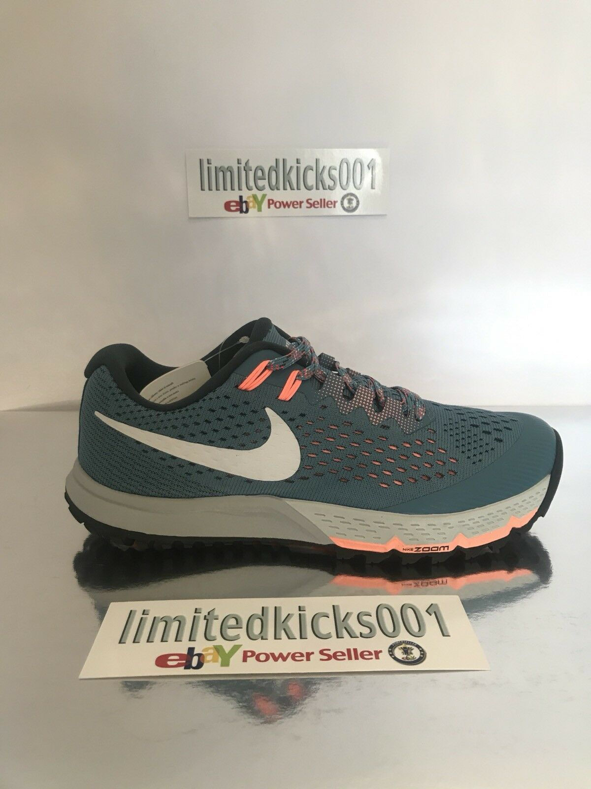 cf15c2e6e2ec ... denmark bnwt nike air zoom terra kiger 4 blue orange womens trail  trainers shoes sz 5.5