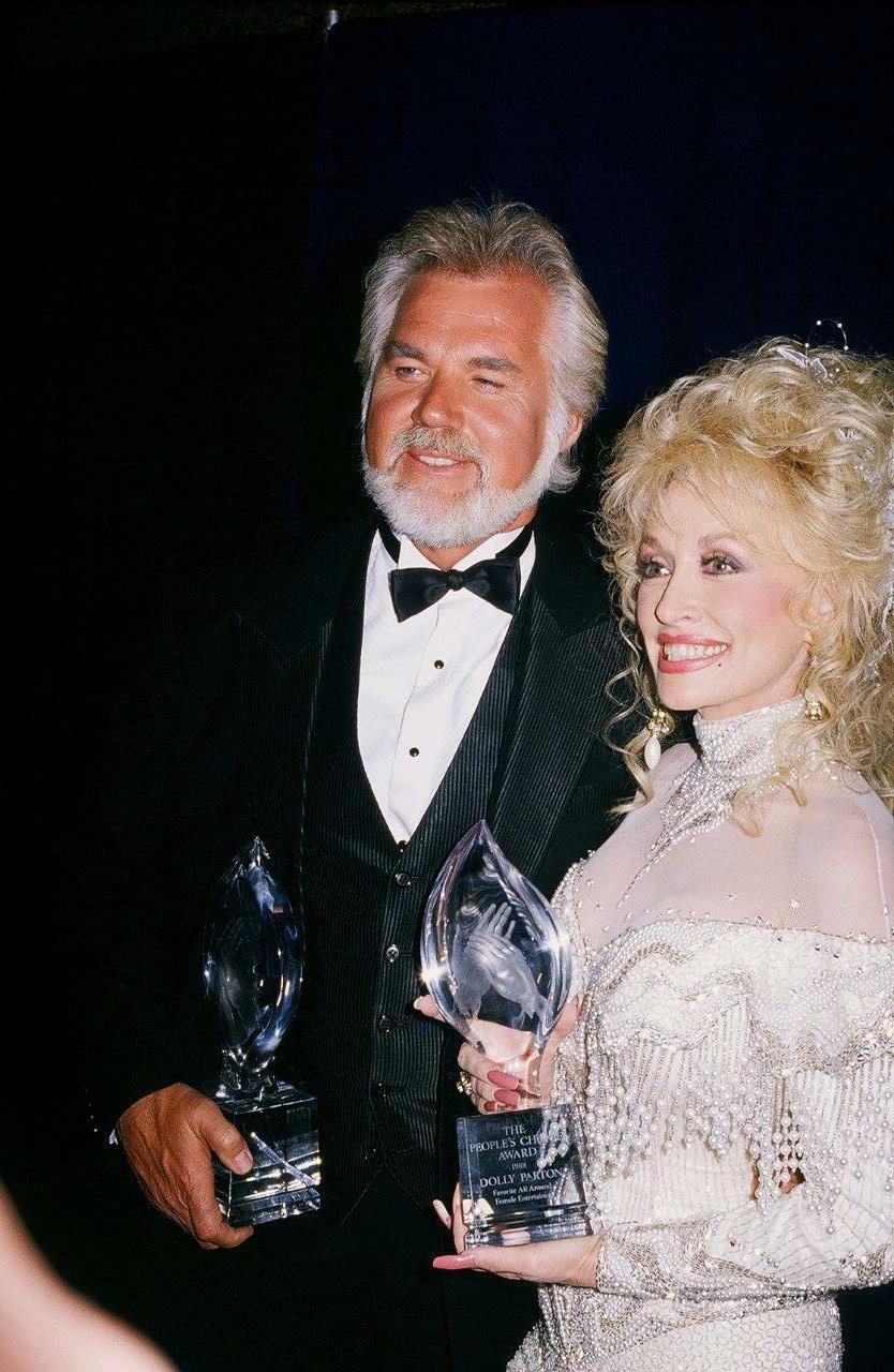 KENNY ROGERS DOLLY Parton 8x10 Picture Simply Stunning Photo ...