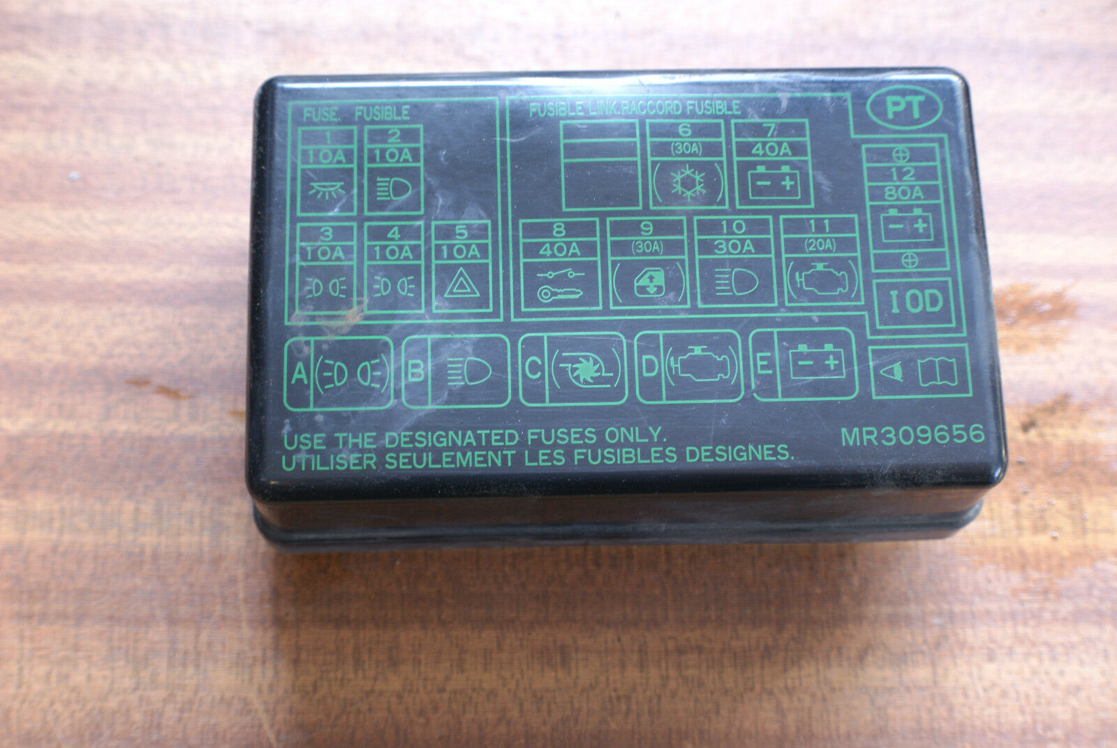 Mitsubishi L200 K74 98- 06 FUSE BOX COVER 1 of 1FREE Shipping ...