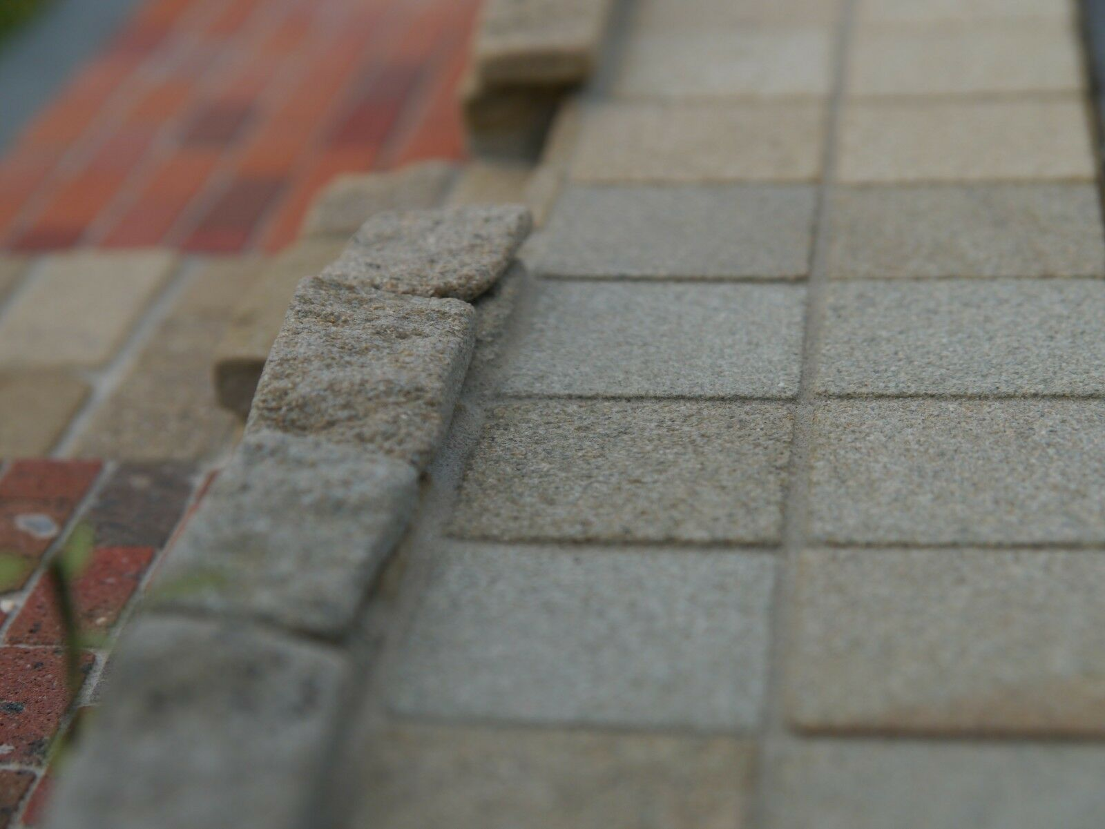 100 1 12th Scale Real Grey Stone Dolls House Patio Slabs