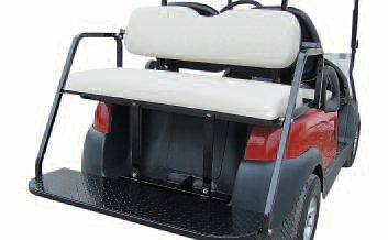 Club Car PRECEDENT Golf Cart BACK SEAT KIT Stationary 1 Of See More