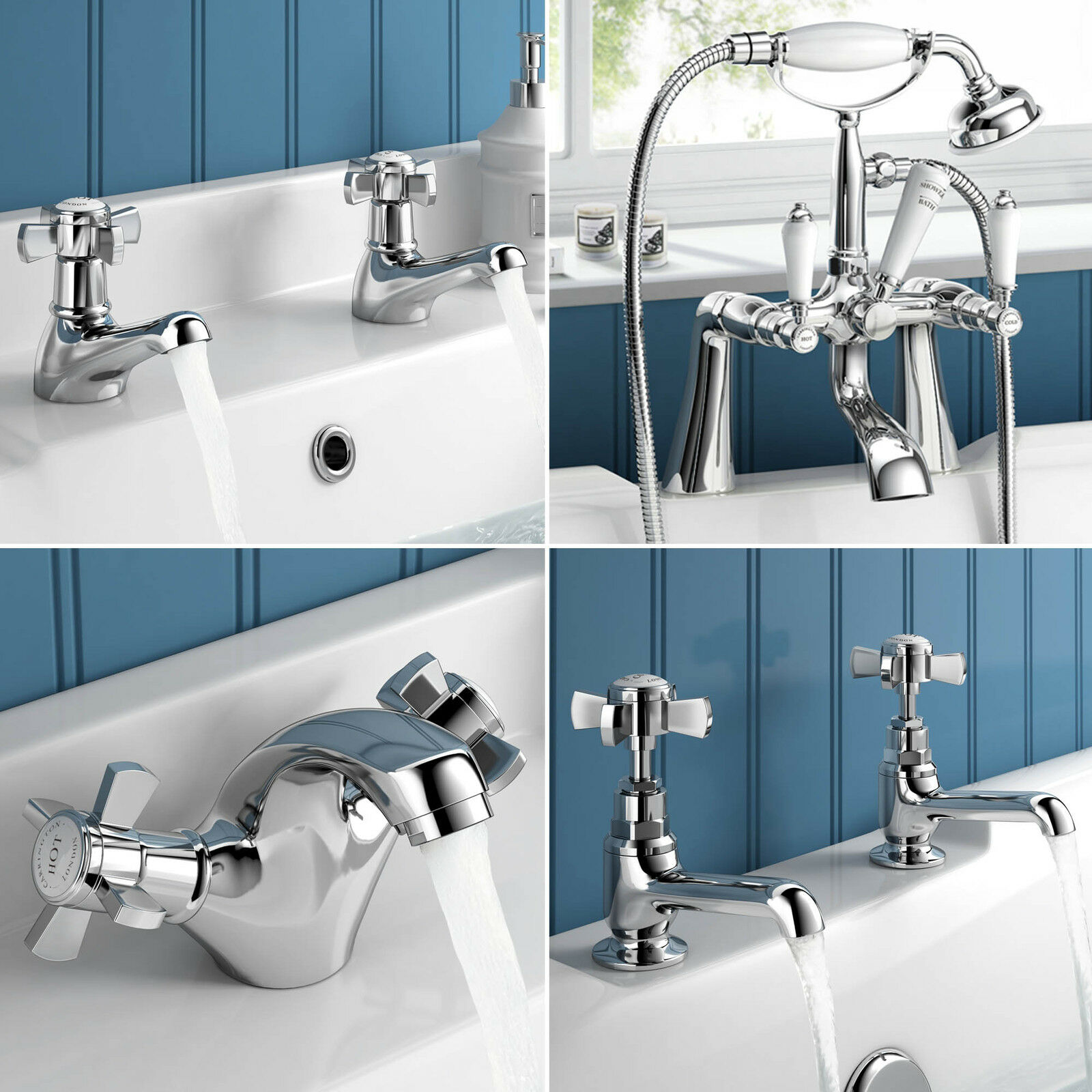 traditional hastings luxury bathroom taps basin mixer