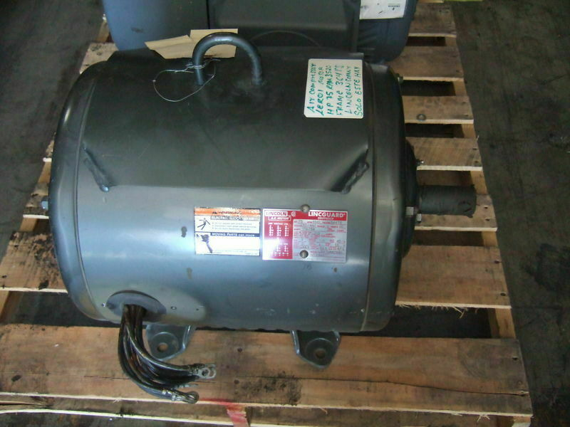 Lincoln 75 Hp Electric Ac Motor 3520 Rpm Lincguar New
