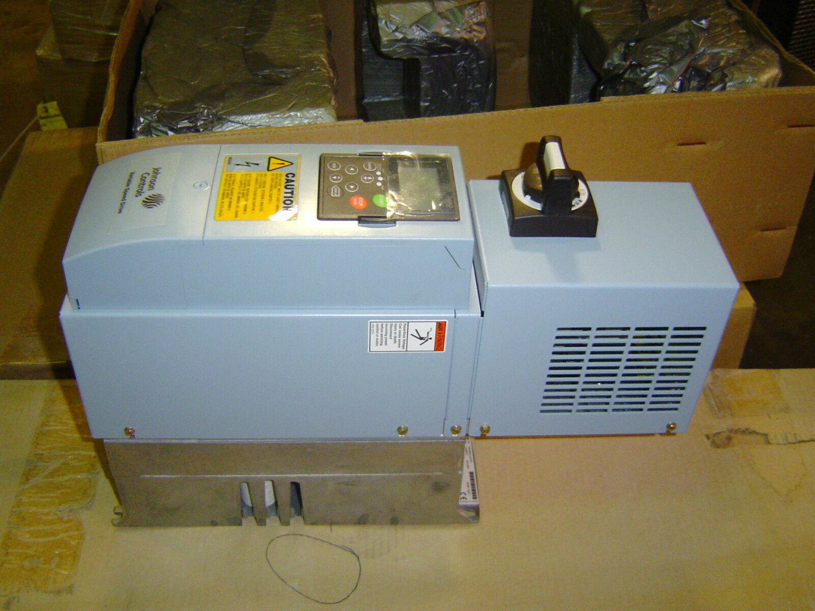 Johnson Controls Electric Motor Variable Speed Drive 3 Hp